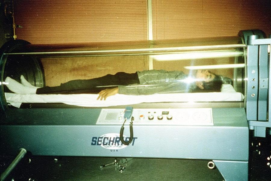 Michael Jackson's Oxygen Chamber