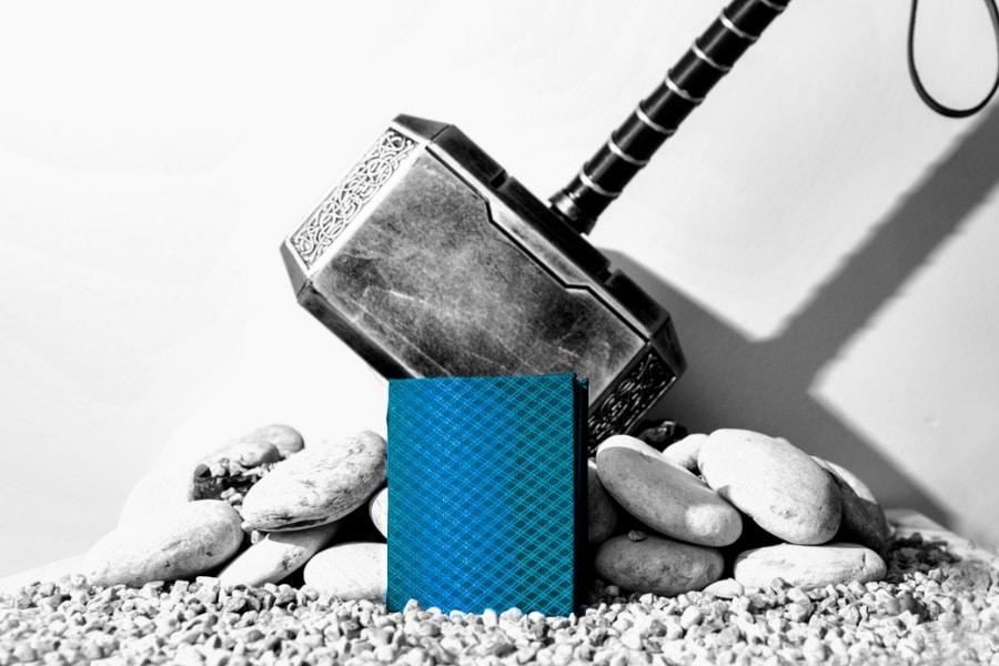 Mjölnir wallet on kickstarter