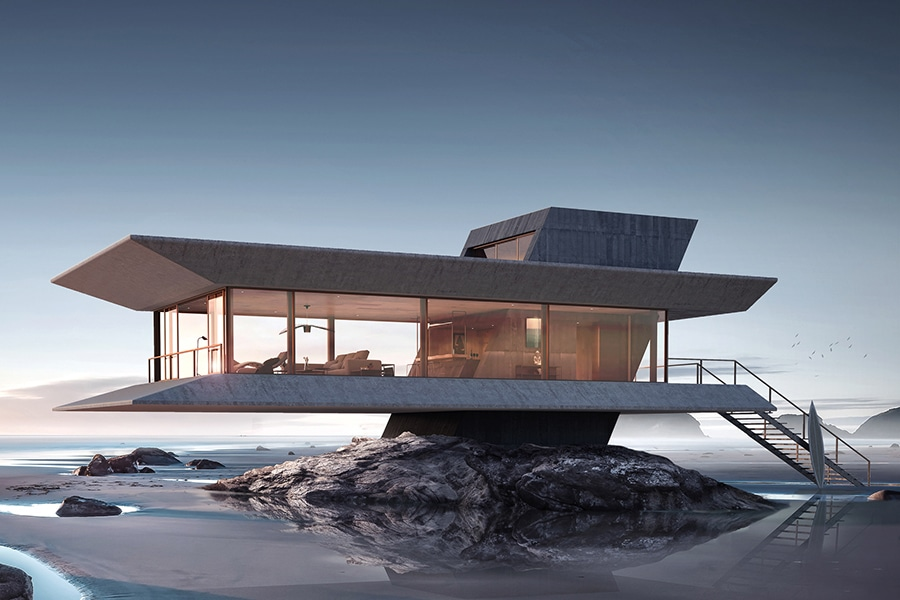 The Monolit Beach House Keeps You Riding the Waves