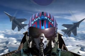 Pilot's shot in cabin fromTop Gun: Maverick trailer
