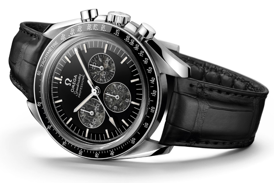omega moonwatch meteorite