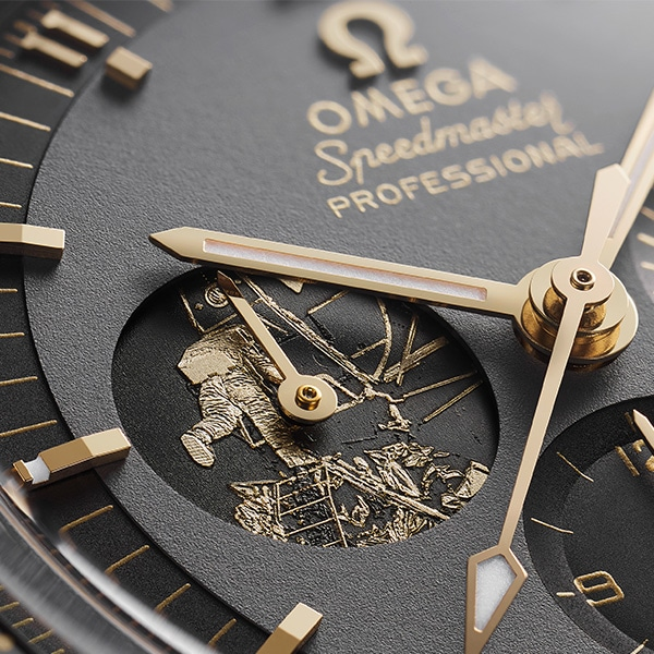 Omega Speedmaster Apollo 11 Limited Edition Gold
