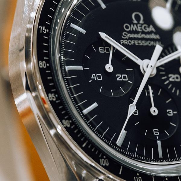 Omega Speedmaster Moonwatch Close Up