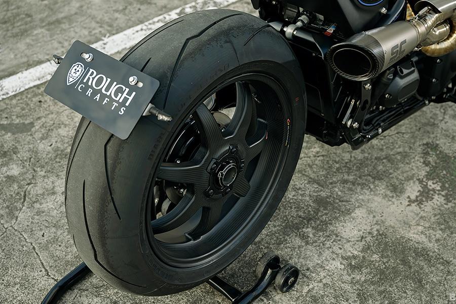 tarmac raven carbon fiber wheels for motorbike