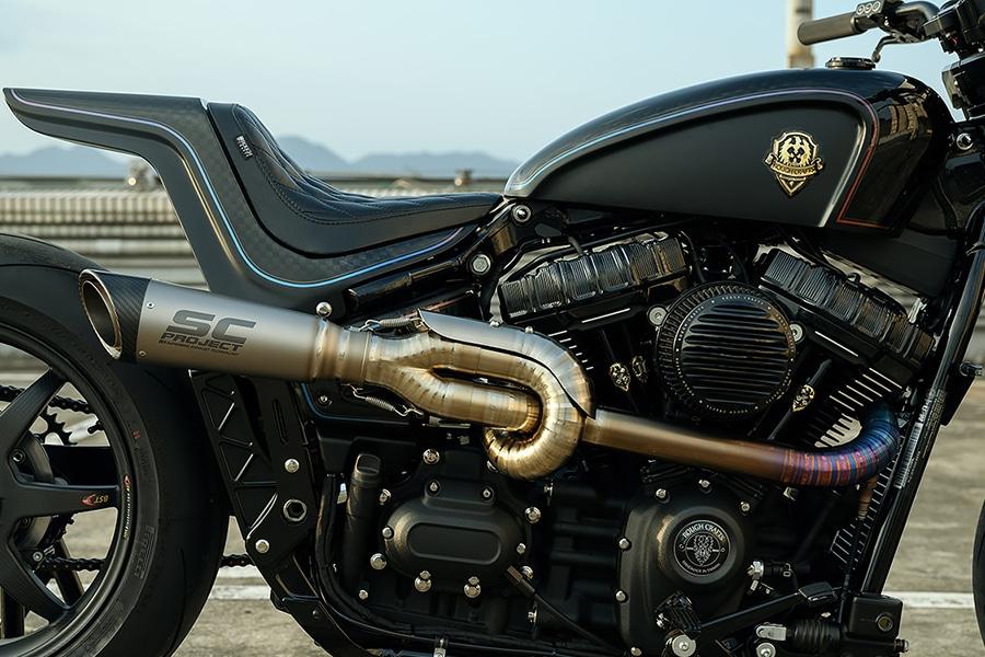 tarmac raven's upgraded engine