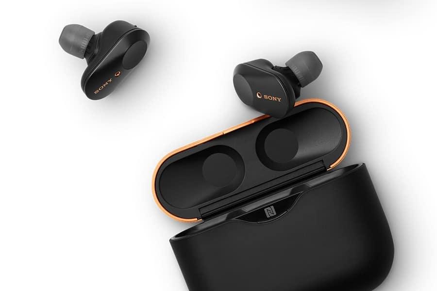 sony WF-1000XM3 wireless earphones