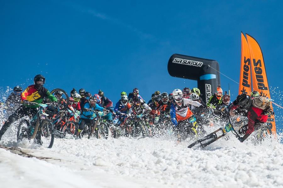 Craziest Mountain Bike Crash Ever – Megavalanche 2019