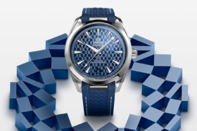 Omega Limited Edition Blue Dial Olympic Games Tokyo 2020 Watch