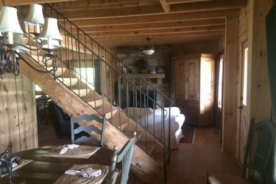 svengerscabins stairway to attic