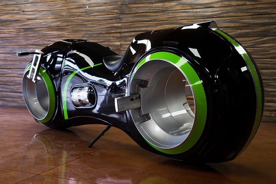 The Tron Motorcycle is Real and Street Legal