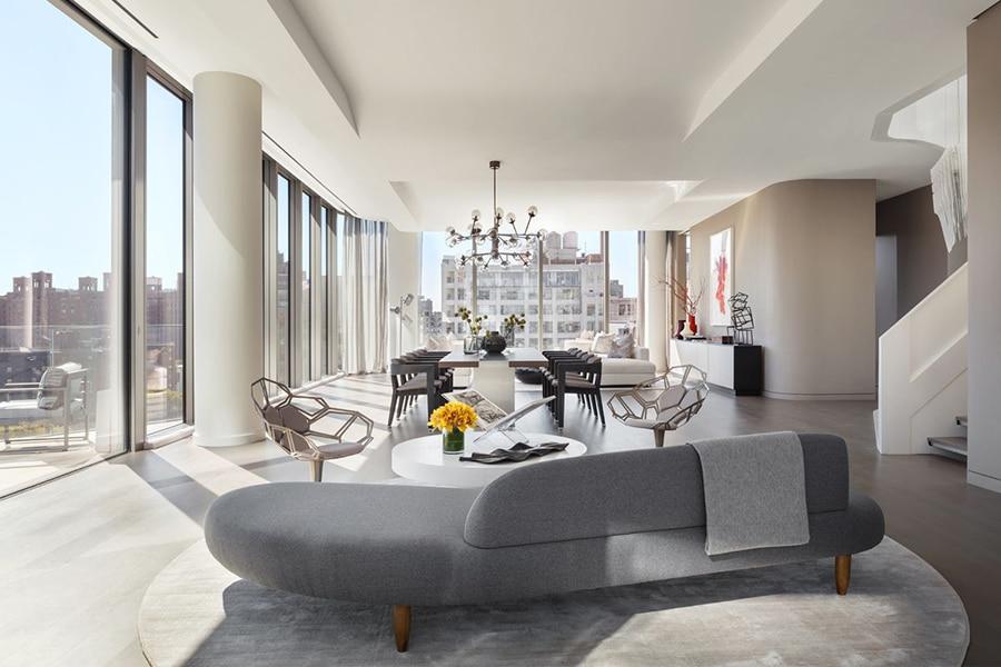 zaha hadid NYC luxury penthouse