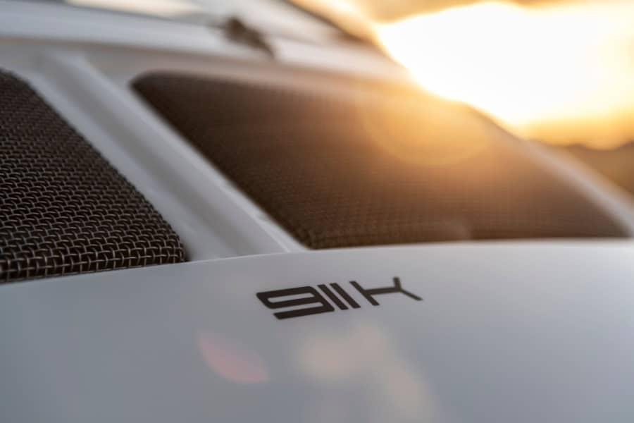 emory motorsports porsche 911k badge