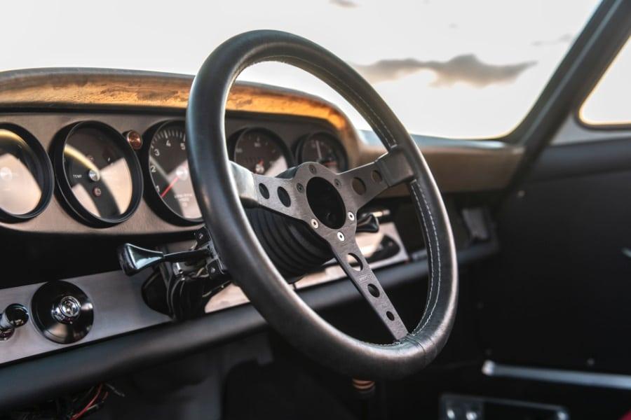 classic steering wheel