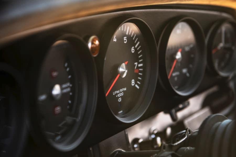 classic car racing guages