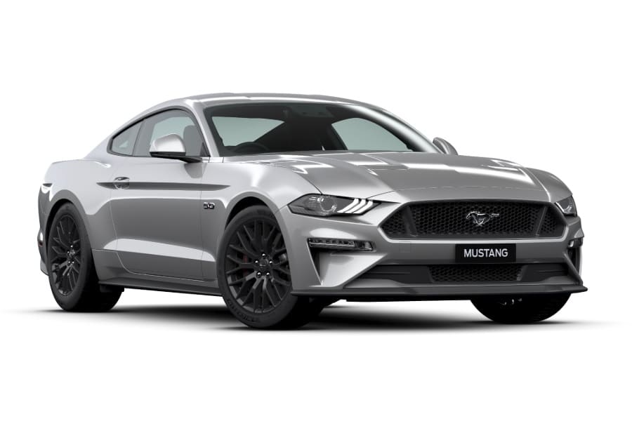 ford mustang gt iconic silver