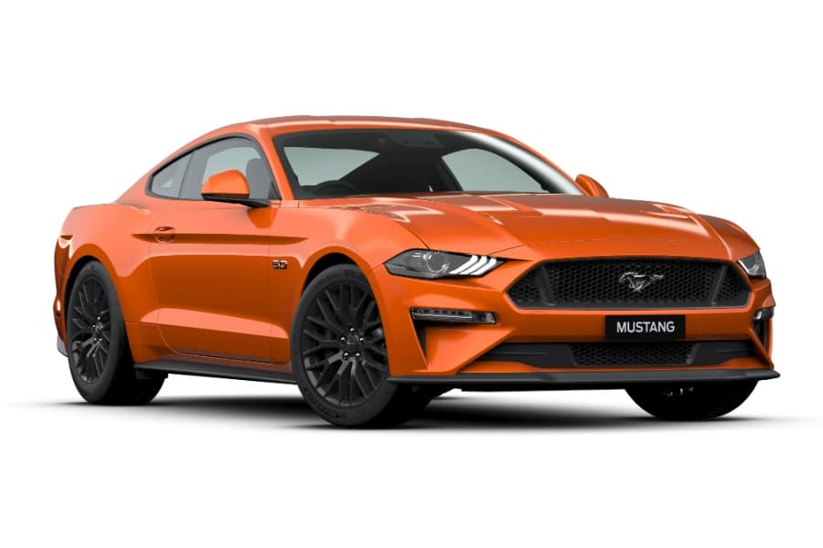 ford mustang twister orange