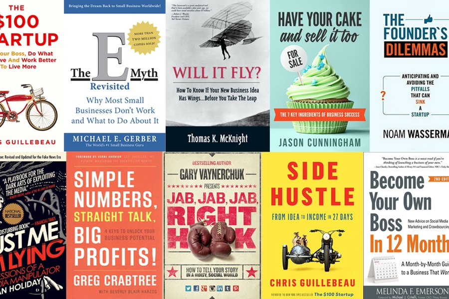 15 Best Books to Read Before Starting a Business