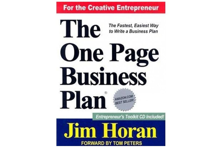 The one page business for the creative entrepreneur