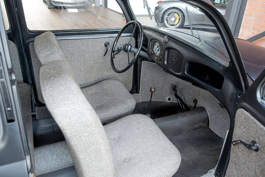 volkswagen upholstery and steering