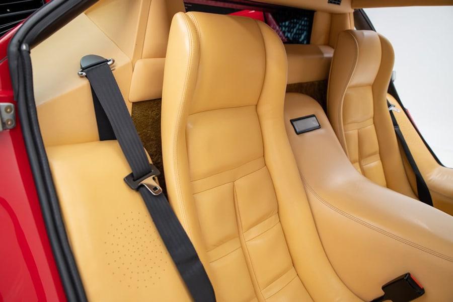 lamborghini countach upholstery car seat