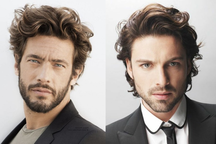 50 Medium Length Hairstyles Haircut Tips For Men Man Of Many