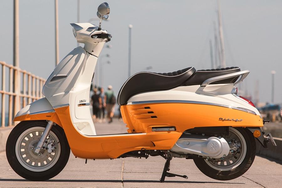 Peugeot Django Scooter profile