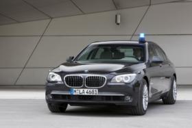 BMW 7 Series three quarter front