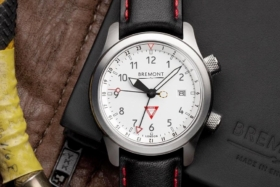Dial of a Bremont watch