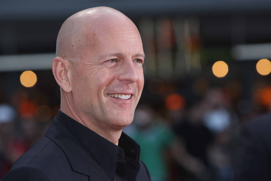 Bruce Willis Shave head hairstyle