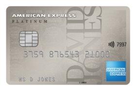David Jones Amex Platinum Card
