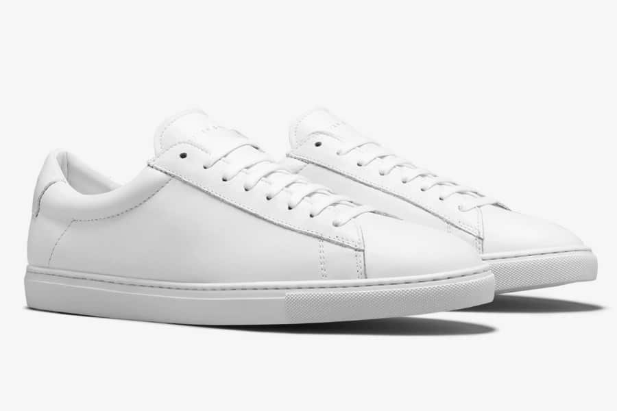 Oliver Cabell Low 1 White Sneakers