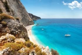Greek Island seas-shore