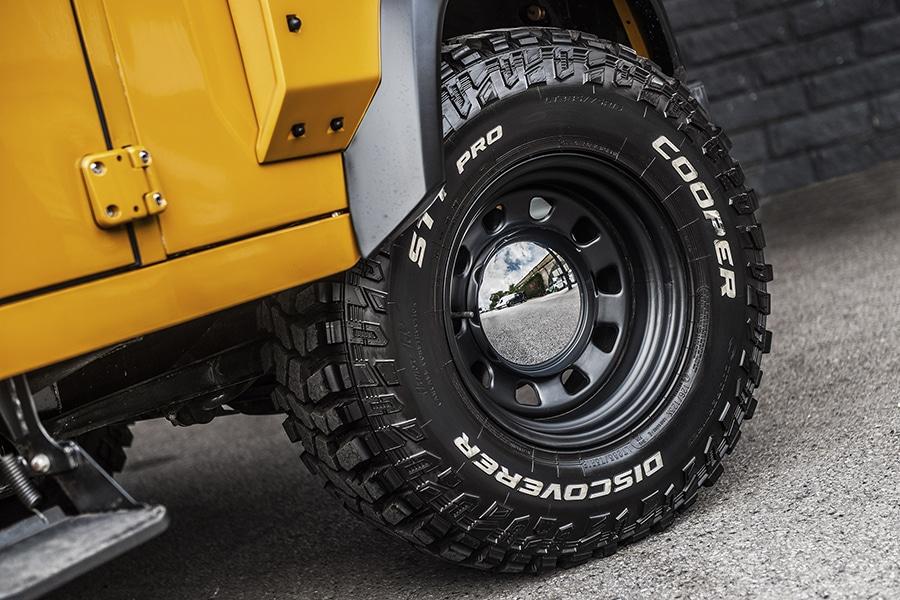 land rover defender wheel