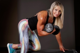 Lynda Jager is the 60 Grandma More Shredded Than You'll Ever be