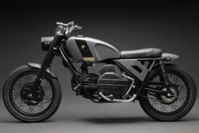 moto guzzi custom build bike