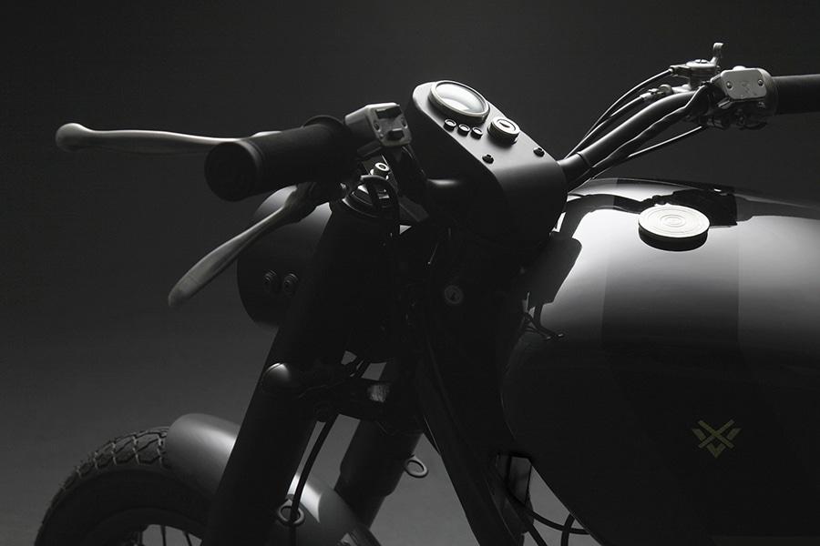 moto guzzi army bike italian