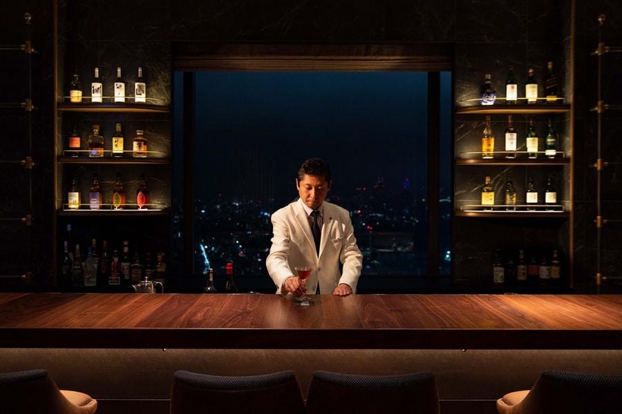 Toyko Bar at Night