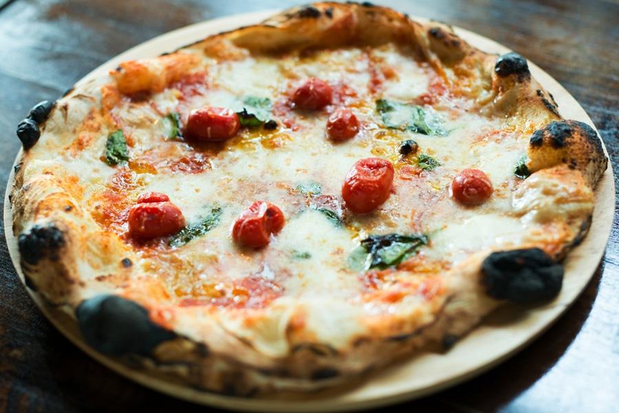 fresh tasty pizza