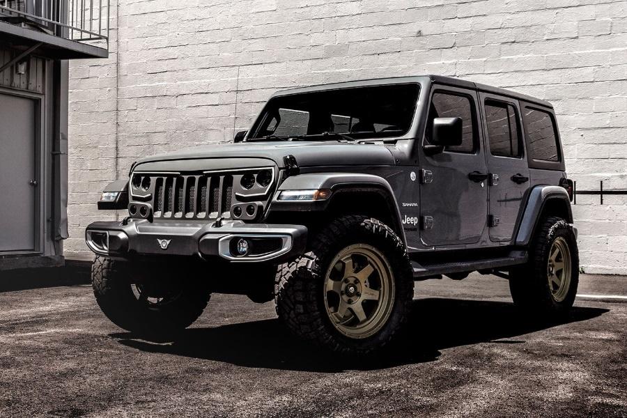 jeep wrangler jl custom grille