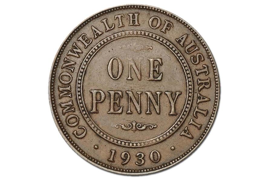 Man Finds 1930 Australian Penny Worth Around $28,000