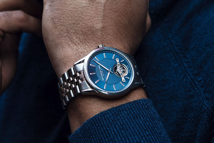 The Raymond Weil Freelancer Calibre RW1212 is Love at First Sight