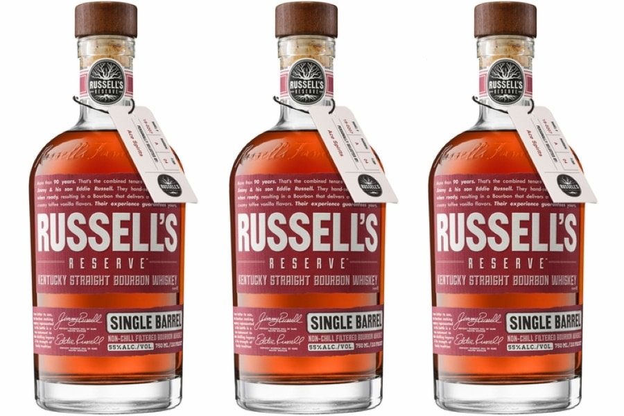 Bottles ofRussell's Reserve