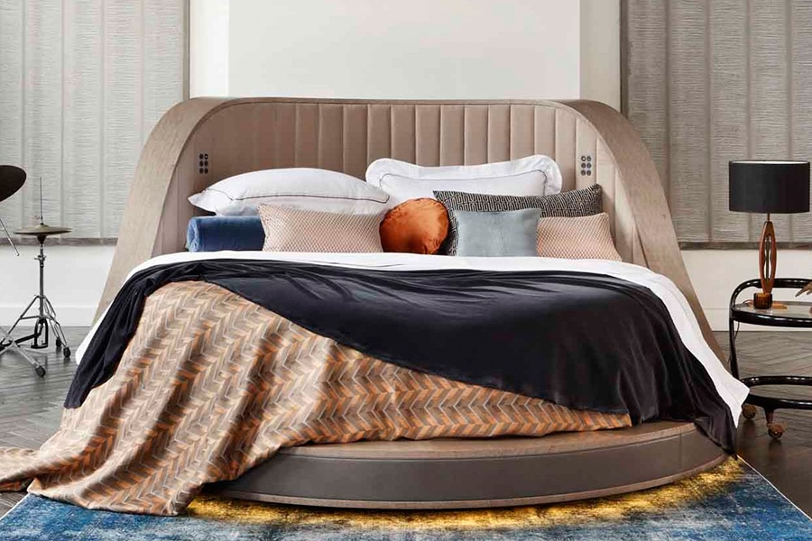 Savoir 360 Degree Spinning Bed Turns Like a Record Baby