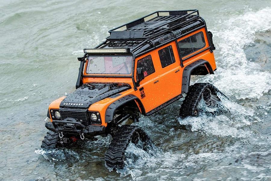 traxxas on water terrain