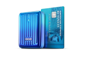 Zendure SuperMini power bank next to a credit card