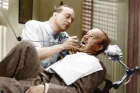 Hotel Haywire dentist visit scene