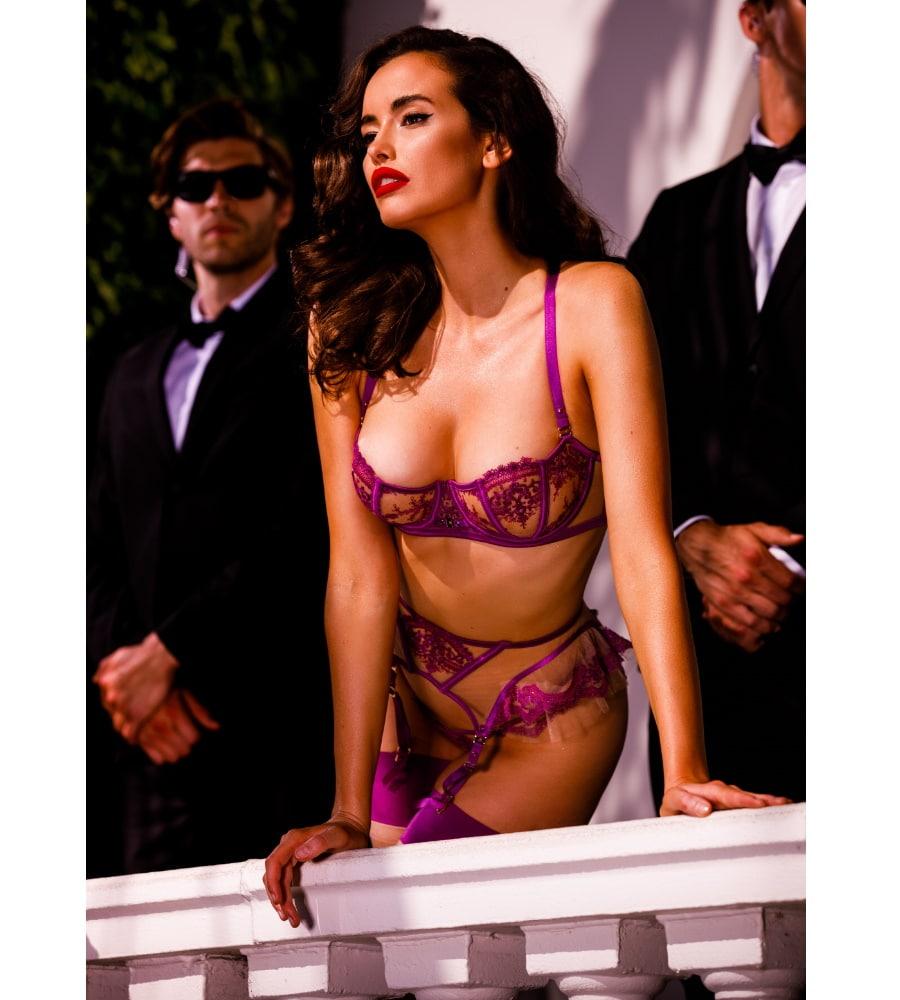 sexy purple underwear