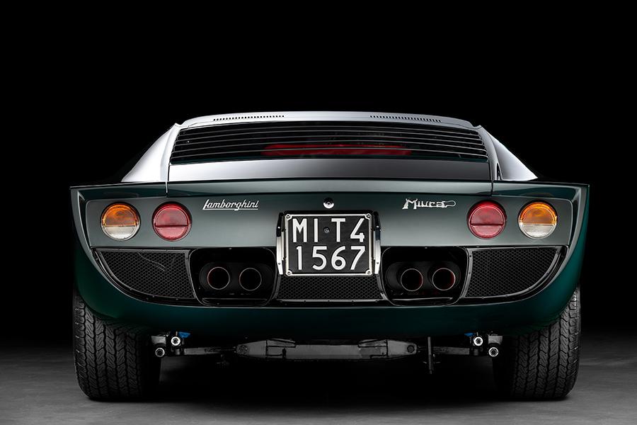 Lamborghini Miura back