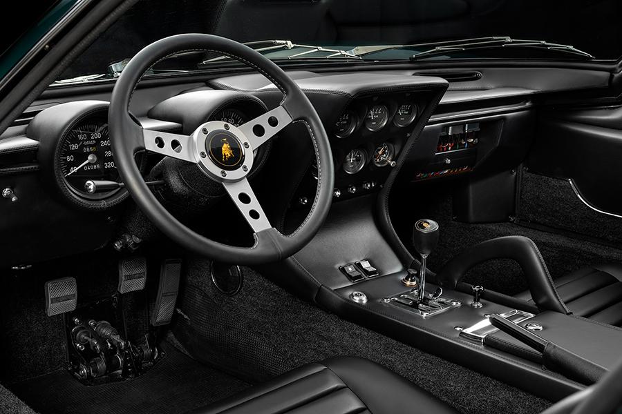 Lamborghini Miura steering wheel