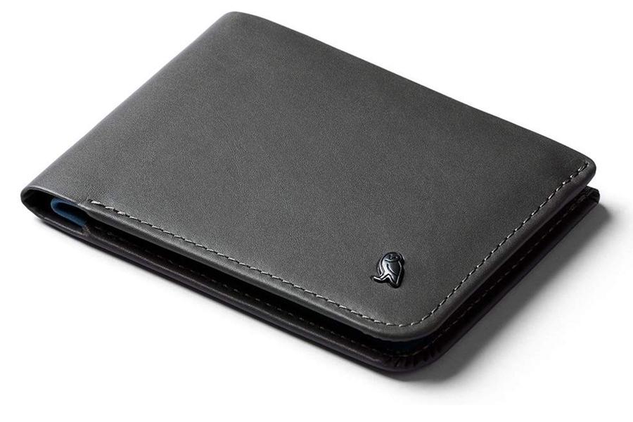 Bellroy Leather Hide & Seek Wallet Charcoal